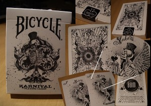 Some shots of the new Karnival Deck from BBM