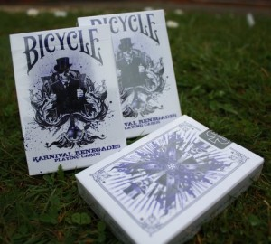 Bicycle Karnival Renegades Purple