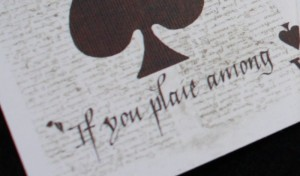 Discoverie Deck Ace of Spades Detail