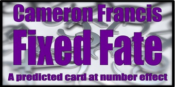 Fixed Fate by Cameron Francis Review