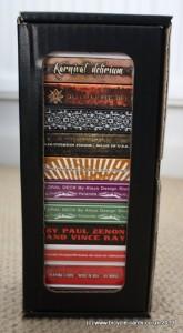 small card storage box full