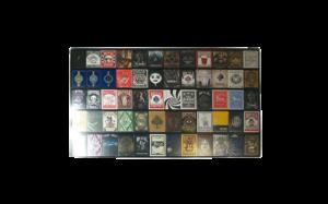 60 deck acrylic card frame