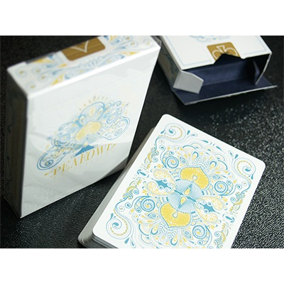 peafowl deck snow