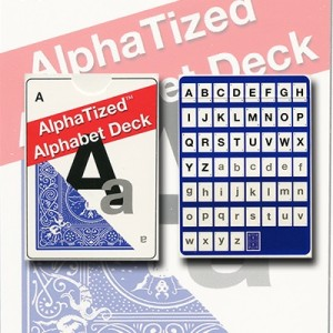 alphatized marked cards