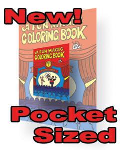 close up magic for kids mini colouring book