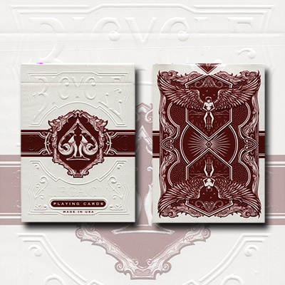 bicycle legacy red deck