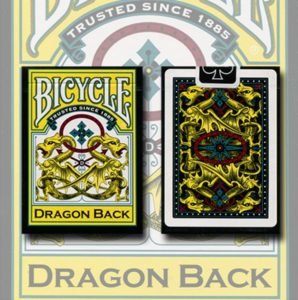 bicycle dragon deck yellow