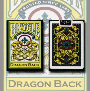 bicycle dragon deck yellow