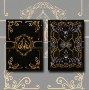 gamblers warehouse legacy black limited edition playing cards