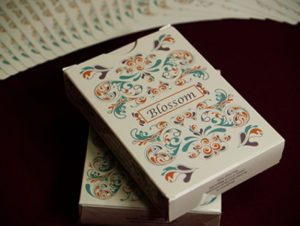 bicycle blossom playing cards