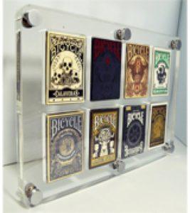 Kings-wild playing card display