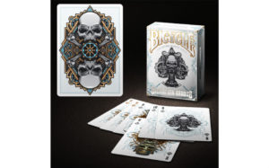 bicycle steampunk playing cards white gamblers warehouse