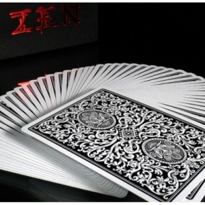 Zen playing cards conjuring arts