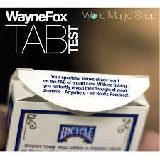 wayne fox tab test review