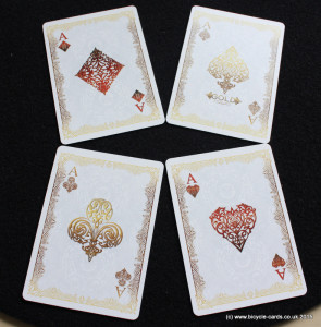 bicycle gold deck review aces