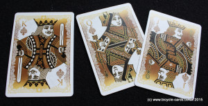 bicycle gold deck review  court cards