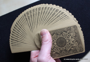 bicycle gold deck review fan