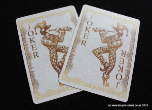 bicycle gold deck review jokers