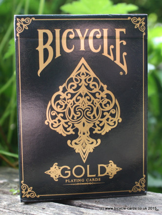 bicycle gold deck review tuck case front