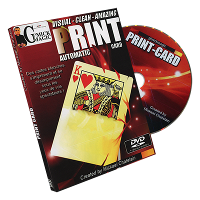 mickael chatelain print card review