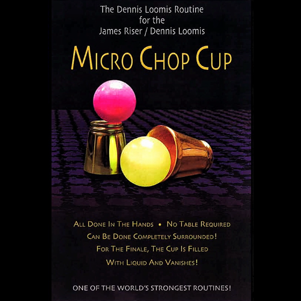 Dennis Loomis Micro Chop Cup – Cups and Balls review