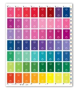 spectrum deck uncut sheet