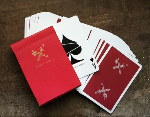 blood kings playing card - christmas magic stocking filler