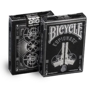 latest bicycle cards - espionage foil bicycle deck