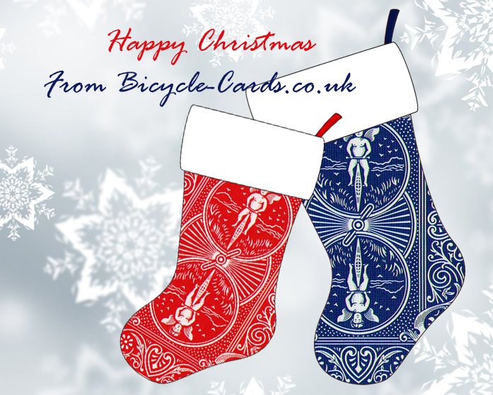 Happy Christmas from Bicycle-cards.co.uk!