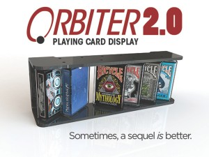 orbiter 2 playing card display