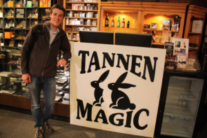 tannens magic 1 - phil sweeting at the store