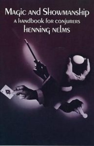 henning nelms magic and showmanship - new to card magic