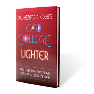 new to card magic - card college lighter