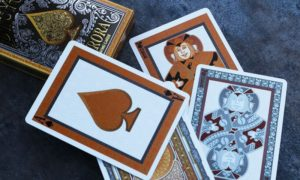 bicycle aurora playing cards deck