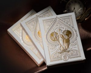theory 11 tycoon playing cards ivory tucks