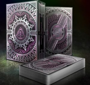 alloy amethyst playing cards