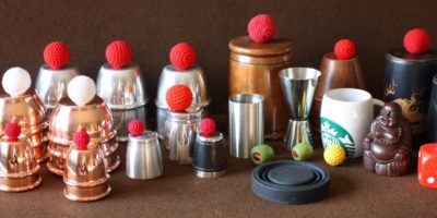 Cups and Balls and Chop Cup collection