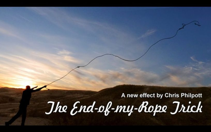 chris philpott end of my rope trick review