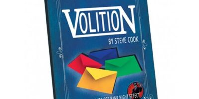 steve cook - volition - review