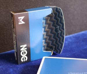 murphys magic signature noc blue open tuck case and deck
