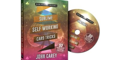 John Carey - sublime self working card tricks - review