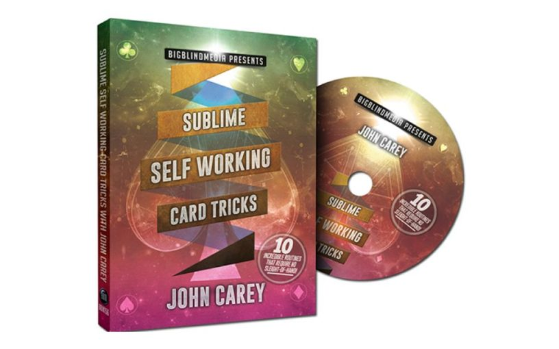 Image result for Sublime Self Working Card Tricks by John Carey