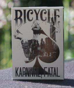 karnival fatal review - singel deck front tuck case