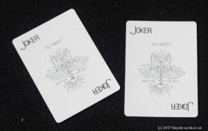 fox targets - deck review - jokers