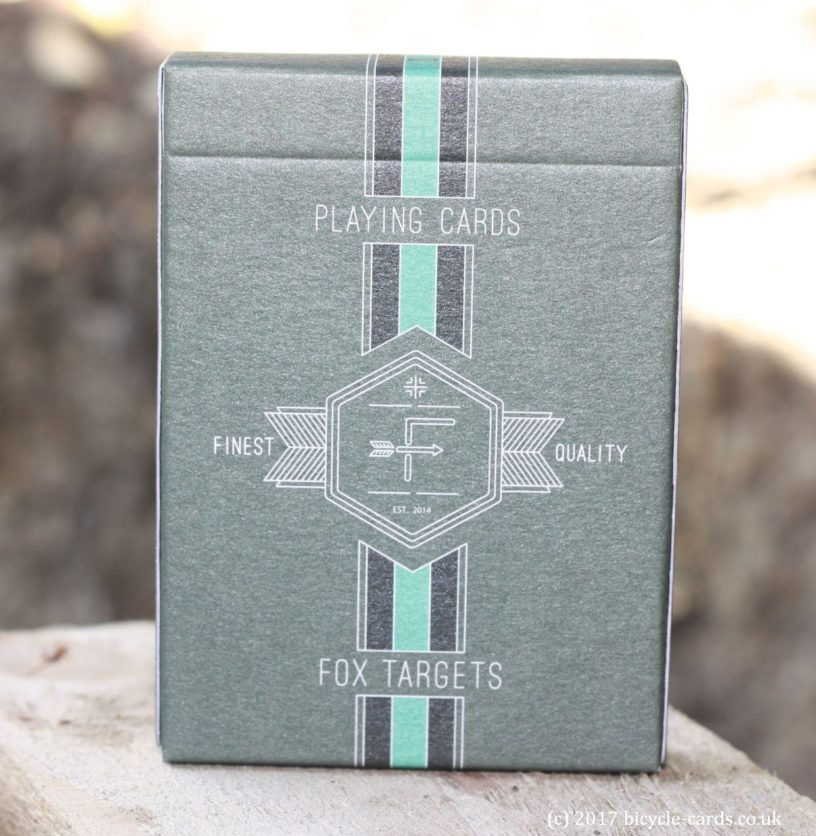 fox targets - deck review - tuck case front