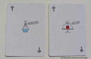 alice in wonderland playing cards jokers