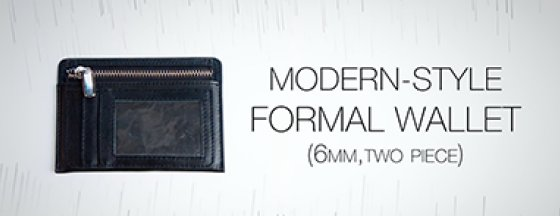 SansMinds Wallet - review - two piece modern-style formal