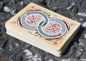 bicycle runic royalty playing cards - stack