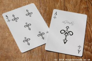 infinitas playing cards - review - ace of spades