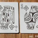 infinitas playing cards - review - court cards - clubs